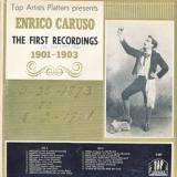 The First Recordings 1901